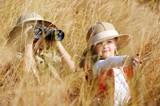 Fototapety Exploring kids