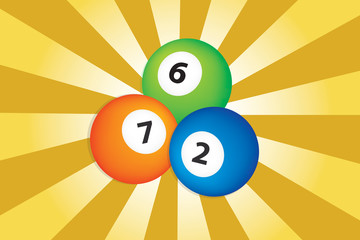 billiard ball gambling vector
