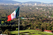 Giant Mexican national flag