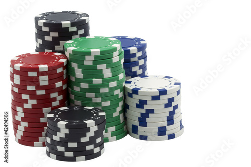isolated poker tokens