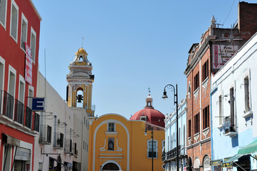 Puebla City Cityscape