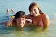 Teenagers in water