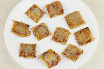 Pizza Crackers