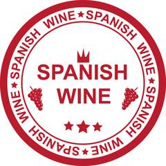STAMP SPANISH WINE