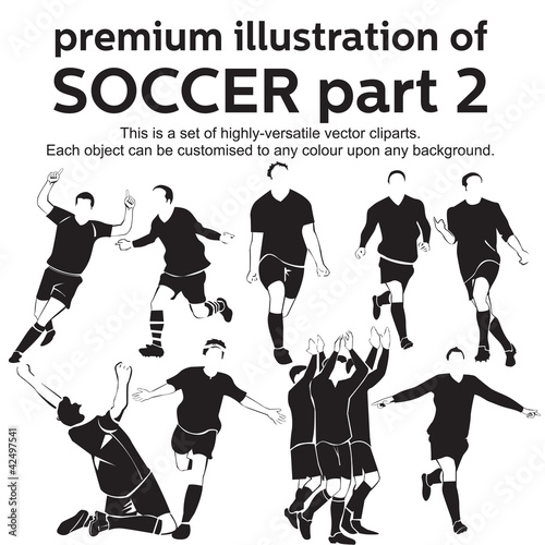 Premium Illustration Soccer Part 2