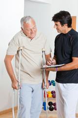 Therapist With Senior Man