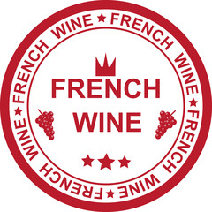 STAMP FRENCH WINE