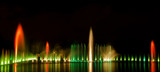 Multimedia fountain show in Wroclaw on the occasion of Euro 2012