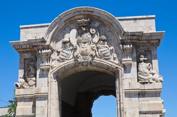 Porta Marina. Barletta. Puglia. Italy.