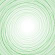 Абстрактный фон с тонкими зелеными кругами