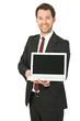 junger business Mann mit Laptop