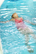 Swimming backstroke