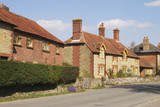 Cottages at Easebourne near Midhurst. Sussex