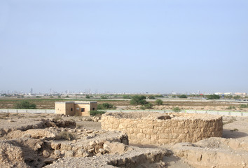 Circular burial chamber near Saar village