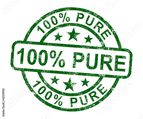 100% Pure Stamp Shows Natural Genuine Product