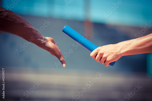 Passing the Relay Baton - 42509577