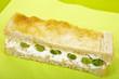 Toast mit Frischkäse