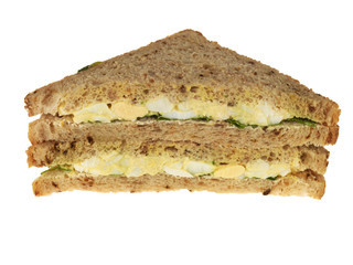 Egg and Watercress Sandwich