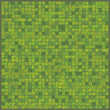 Scribble pixels deep green bg.