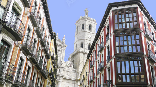 Valladolid, miasto historyczne i kulturalne, Hiszpania.