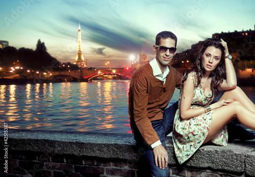 Fototapete Belle - Schönheit - Paar
