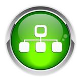 Button web Network Information icon.