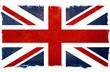 old designed grungy british flag