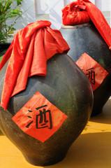Chinese wine bottles