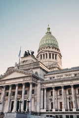 Building of Congress  in Buenos Aires, Argentina