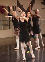 Group of Ballet Students