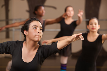 Teen Ballet Students