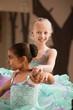 Young Dancer Helps Partner