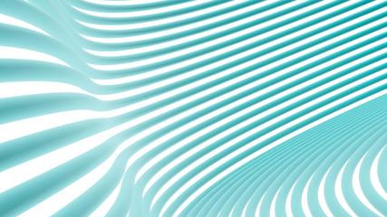 Neon Blue Wave, Onda Azul Neon