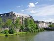 Strasbourg - Bâtiment La Gallia et quai
