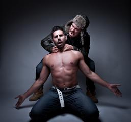 prisoner being tortured