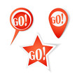 Go! Bubbles. Stickers set