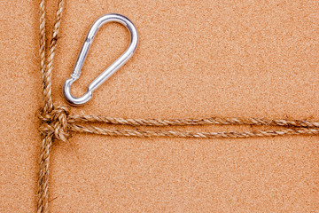 Rope and Carabiner
