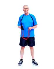 Fitness man.