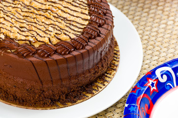 German Chocolate Fudge Cake