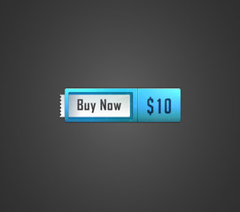 Buy now web button. Vector illustration.