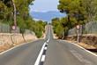 Leinwanddruck Bild - Long Road