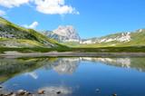 Fototapety Mountain lake in Abruzzo