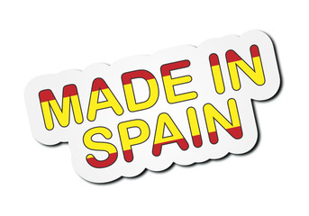 Sticker - Made In Spain