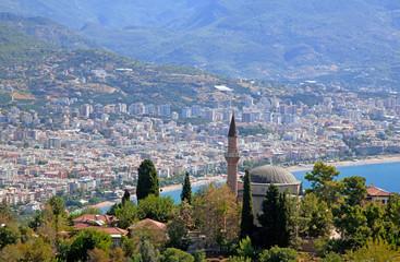 Turkey. Alanya cityscape