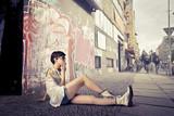 Fototapeta styl życia - kobieta - Kobieta