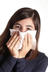 raffreddore e allergia