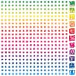 399 basic scribble pixels spectrum