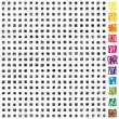399 basic scribble pixels black