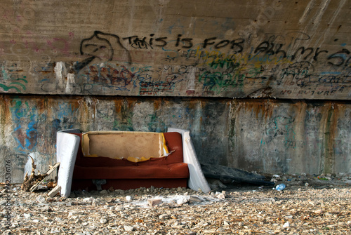 Homeless bed