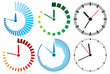 clock icons (clock set)